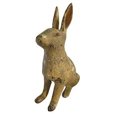 Vintage Steel Rabbit Door Stop