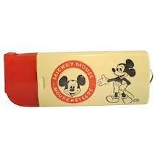 Vintage Mickey Mouse, Mouseketeers Lighter Case 1946