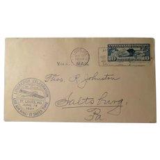 Vintage Air Mail Lindbergh Celebration St. Louis, Mo. June 18  1927