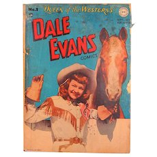 DC comic Dale Evans Vol. 1 #1 1948