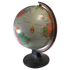 Collectible Mickey's World Tour Globe That lights up.