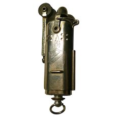 "Vintage 1950""s Slide Sleeve Trench Lighter by Bowers Mfg. Kalamazoo , Michigan"