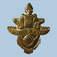 Vintage Buck Rogers Scout Badge 1936-41
