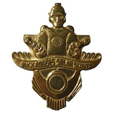 Vintage Buck Rogers Scout Badge 1936-41