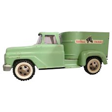 Vintage 1960's Tonka Farms Horse Van No. 2430