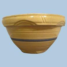 Vintage Mc Coy Pottery Yellow ware Bowl #8