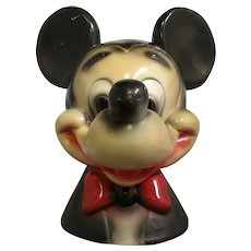 Vintage Chalkware Mickey Mouse Bank-Carnival Prize