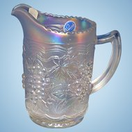Imperial Carnival Glass Pitcher