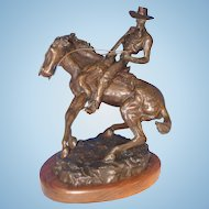 Thomas Holland Bronze-Cowboy 1876