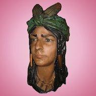 Chalk Hanging Indian Head