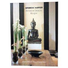 1997 soft cover book:  Andrew Martin - Interior Design Review (Vol 1)