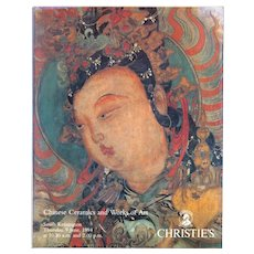 Christie's Chinese Ceramics and Works of Art 6-9-94 auction catalogue