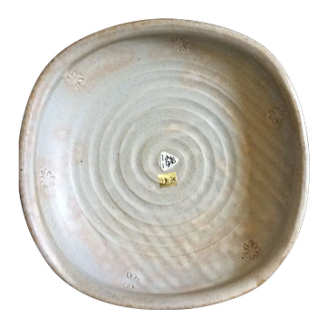 Large handmade earthenware bowl in original box - Kafuh Japan