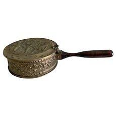 Vintage Peerage England brass bed warmer