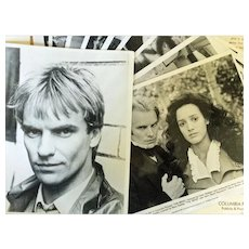 1985 Press Packet for the film, THE BRIDE with Sting and Jennifer Beals