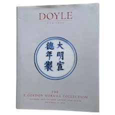 Book:  Doyle NY The F Gordon Morrill Collection Chinese & Chinese Export Porcelain - Sept 16, 2003