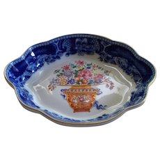 "Vintage Mottahedeh ""Mandarin Bouquet"" Winterthur Bowl   never used"