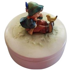 "Hummel  "" Singing Lessons "" Candy Bowl TMK 3 #111/63   1950s"