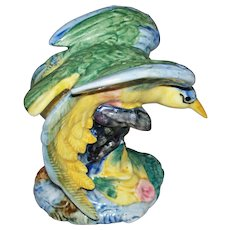 """Stangl  """" Bird of Paradise """"# 3400  Artist signed N I I V I   hand written"""
