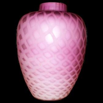 Art Deco Style Bohemian Jugendstil Iridescent Glass Vase