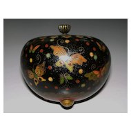 Antique  Japanese  Cloisonne Jar  of   Butterflies