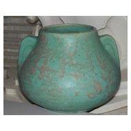 """Roseville Carnelian  11 Vase Mission Arts & Crafts Jar Bowl circa 1915   8"""" Wide"""