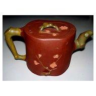 Antique Chinese Yixing Teapot Late 1800s   Prunus