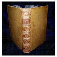 "Antique Book ""Gordon's Poems"" A.H. Massina Publisher   1868"
