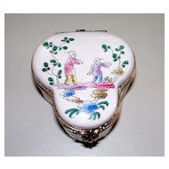 "Antique French Faience Veuve Perrin ""Chinoiserie""  ca. 1780 perfect"