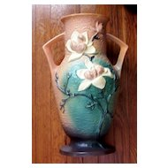 "Roseville Magnolia Floor Vase    #98   15"""