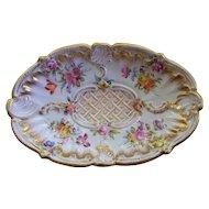 Antique Meissen Rococo Tray/ Plate  ca. 1890