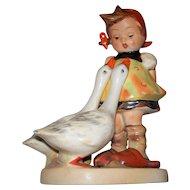 "Hummel 'Goose Girl' Rare Crown Mark TMK #1 #47/0  ca.1936-1946 5.5"" high"