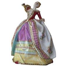 Antique Capo Di Monte Figurine of a Beautiful Woman Dancing..