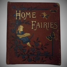 Home Fairies 12 Colours Illustrations London Warne Co Antique Book