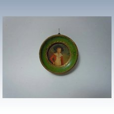 Beautiful Old Framed Print miniature