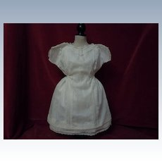 All Original Antique Batiste Dress and Slip