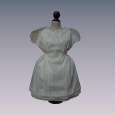 All Original Antique Batiste Dress and Slip