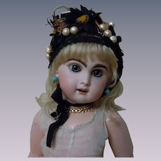 Wonderful Hat Golden leaves Daisies  for 17 to 21 inches tall doll