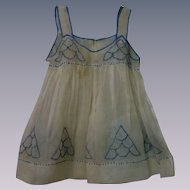 All Original antique 19th century Organdy Pinafore