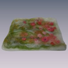 Lovely Vintage Nuno Felting Carpet Dollhouse Rug