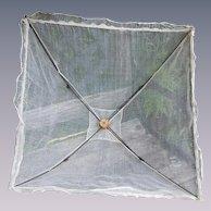 Antique Picnic Gauze Cover Umbrella for dolls decor