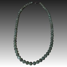 All Original genuine Mother of Pearls Beads Necklace for antique huge doll