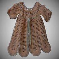All Original Antique Rose wool Silk Dress