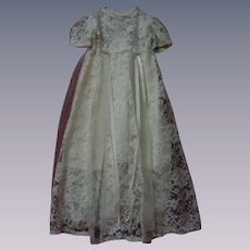 """Wonderful Lace Dress w/ Slip for 30"""" to 36"""" huge doll"""