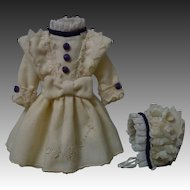 """Beautiful Woolen Dress Hat for 11"""" to 13"""" tiny cabinet sized doll"""