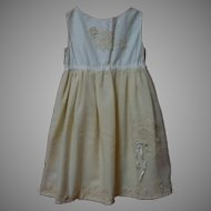 Beautiful Antique Full Slip for huge bisque doll
