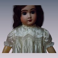 "Exquisite  Embroidered Silk Dress for 27"" to 33"" huge doll"
