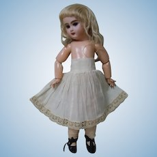 "Antique Petticoat Underskirt  for 18"" Bebe Jumeau size 7"