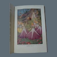Antique Book Daddy's Bedtime Fairy Stories by Mary Bonner 3 Colour Plates