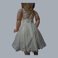 Antique Batiste Petticoat Underskirt for french bebe doll